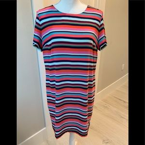 A wonderful dress! Multi colors! Great for summer